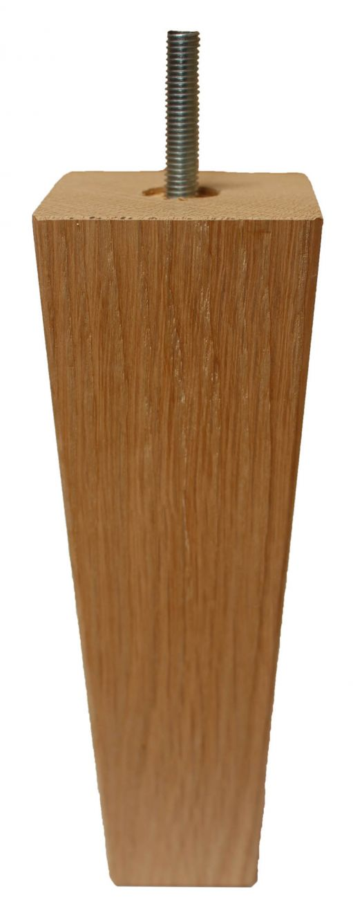 Millie Solid Oak Square Tapered Wooden, Where To Get Legs For Furniture