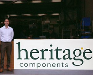 Heritage Upholstery Supplies rebrands as Heritage Components