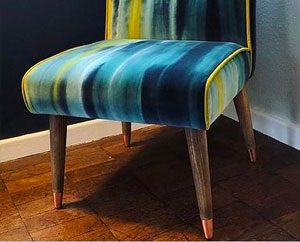 Our favourite sofa, chair and footstool makeover projects